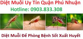 Diệt muỗi uy tín quận phú nhuận