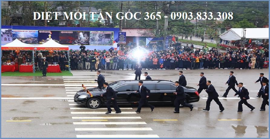 chủ tịch kim jong un đã đến hà nội